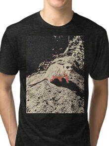 Meet Edward, lazy suricate (meerkat) Tri-blend T-Shirt
