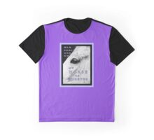 "MESSAGE PIECE: ""Men come & go/My HORSE is forever"" Graphic T-Shirt"