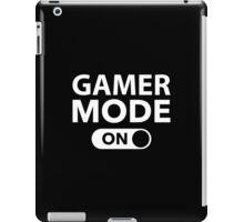 Gamer Mode On iPad Case/Skin