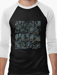 Blue town Men's Baseball ¾ T-Shirt