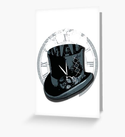 Mad as a Hatter Greeting Card
