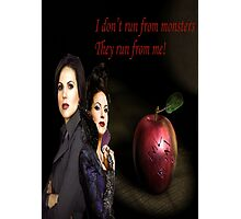 Regina Mills/Evil Queen Photographic Print