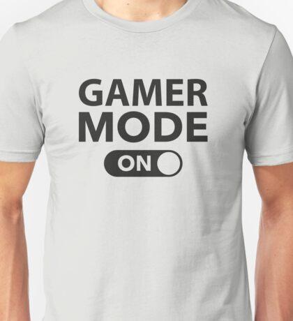 Gamer Mode On Unisex T-Shirt