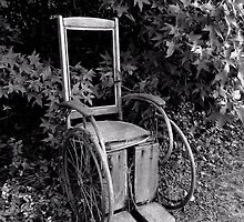 Old Wheelchair by Scott Mitchell