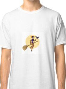 Cute Witch Classic T-Shirt