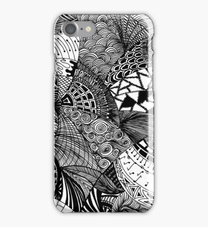 Abstract doodles iPhone Case/Skin