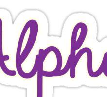 Phi Alpha Delta  Sticker