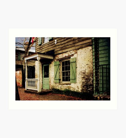 This Old House Is Haunted by Ghosts Art Print