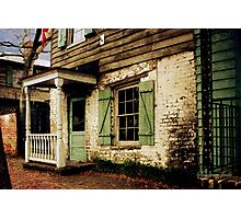 This Old House Is Haunted by Ghosts Photographic Print