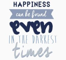 Happiness by Albus Dumbledore Kids Tee