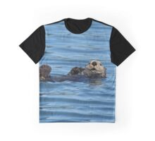Sea Otter Photography Print Graphic T-Shirt
