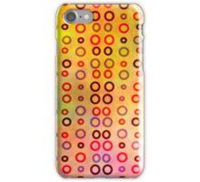 Playful circles iPhone Case/Skin