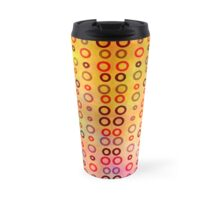 Playful circles Travel Mug