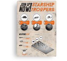 [SF MOVIES!] Starship Troopers Canvas Print