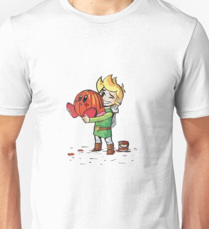 Link and Kirby Halloween Unisex T-Shirt