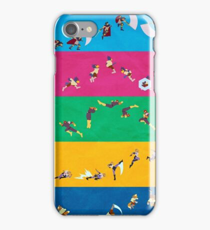 Simply Melee Poster One iPhone Case/Skin