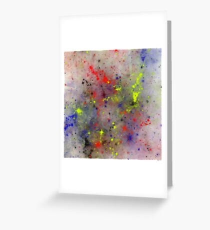 Primary Space Greeting Card