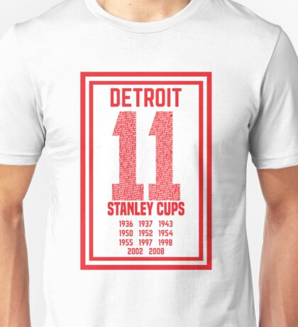 11 Stanley Cups Unisex T-Shirt