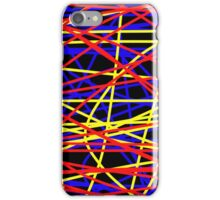 Primary Chaos iPhone Case/Skin