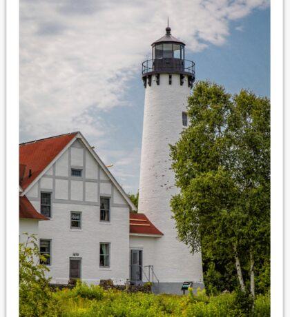 Point Iroquois Lighthouse - Michigan Sticker