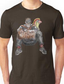 Will work for PokeBalls! Unisex T-Shirt