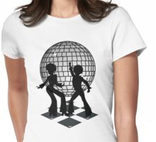 Retro Music DJ! Feel The Oldies! Womens Fitted T-Shirt