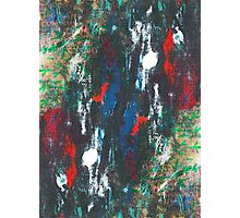 Abstract hand painted background Photographic Print