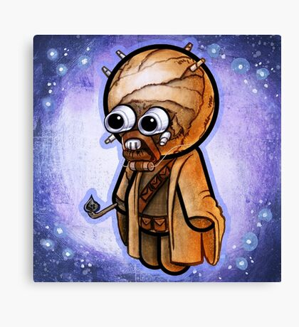 """""""Sand Person"""" POOTERBELLY Canvas Print"""