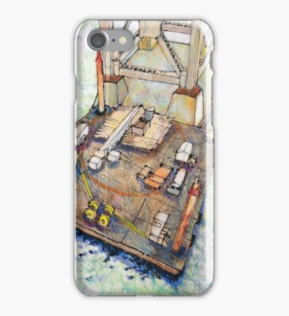 Bay Bridge floating shop iPhone Case/Skin