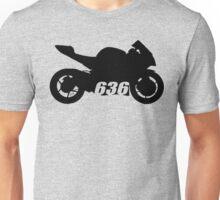 Ninja 636 Silhouette Unisex T-Shirt