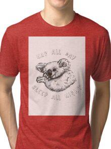 Nap All Day Sleep All Night Tri-blend T-Shirt