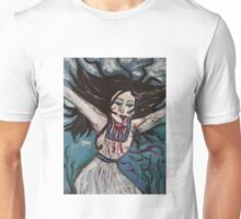 drowning woman Unisex T-Shirt