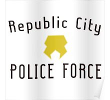 Republic City Police Force  Poster