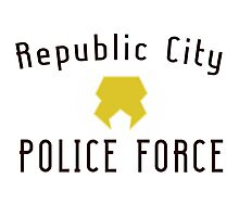 Republic City Police Force  Photographic Print