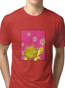 Cute Turtle Tri-blend T-Shirt