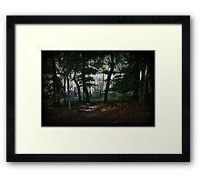 Down To The Cove Framed Print