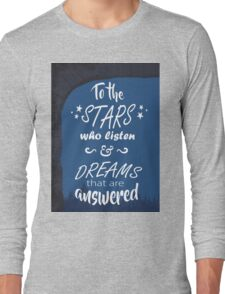 ACOMAF: To the Stars Long Sleeve T-Shirt