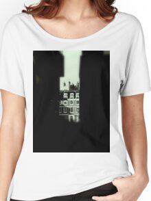 Side Street View At Exeter  Women's Relaxed Fit T-Shirt
