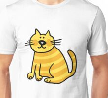 Yellow Cat Unisex T-Shirt