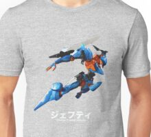 Mecha - Orbital Frame Jehuty Unisex T-Shirt