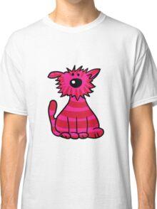 Pink Wild Cat Classic T-Shirt