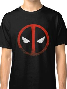 Deadpool Distressed Symbol Classic T-Shirt
