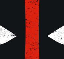 Deadpool Distressed Symbol Sticker