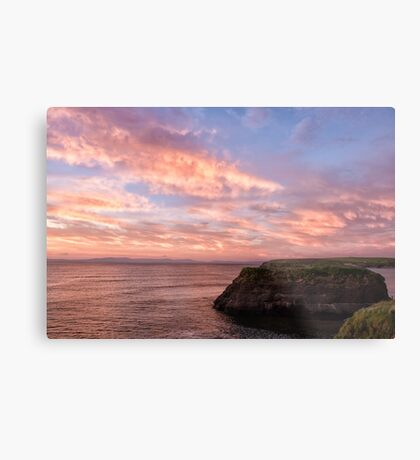 Donegal Skies Alight Metal Print