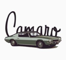 '70 Camaro Kids Tee