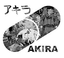 Black and Grey Akira by Laura Mancini