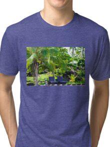 Beautiful tropical landscape Tri-blend T-Shirt