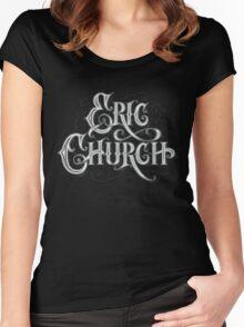eric church  thypo Women's Fitted Scoop T-Shirt