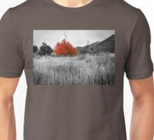 Red Tree in the Valley Unisex T-Shirt