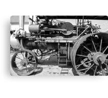 Old Steam Engine Canvas Print